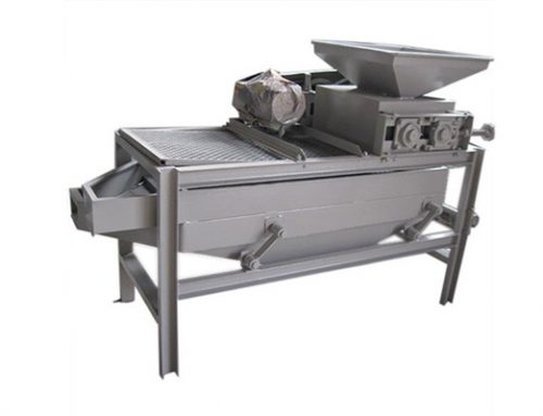 Almond Shelling & Separating Machine