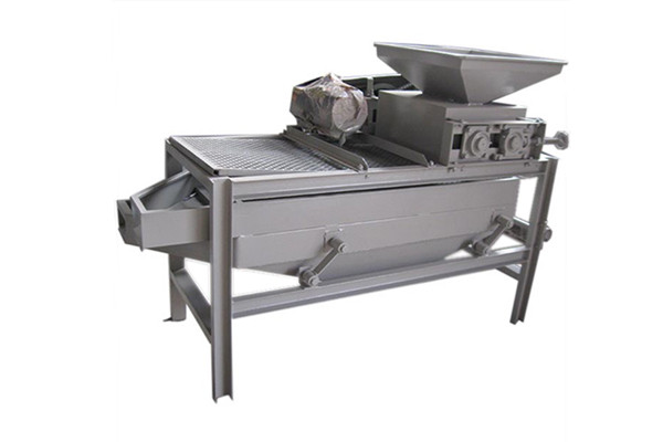 Almond Shelling and Separating Machine
