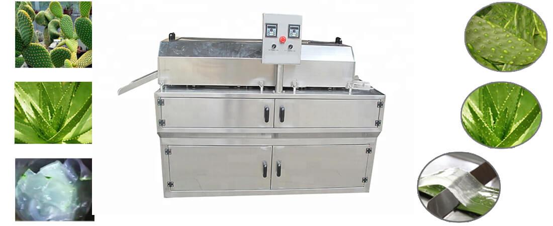 Aloevera Peeling Machine