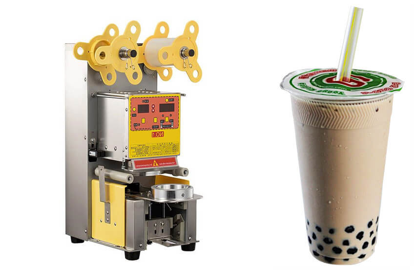 Automatic Bubble Tea Cup Sealing Machine Introduction