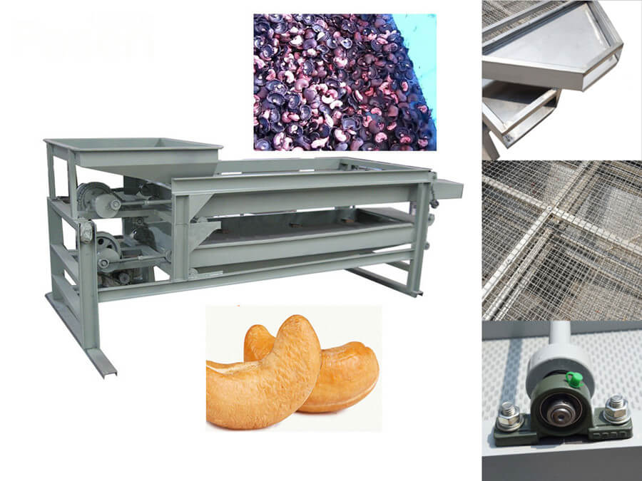 Cashew Shell and Kernel Separating Machine Features