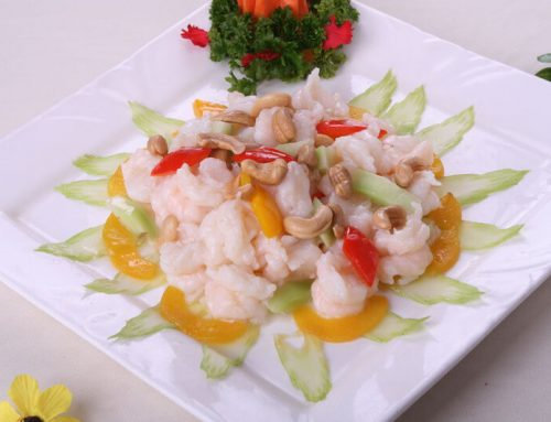 Shrimps with Cashews Nuts
