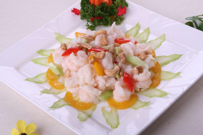 Cashew Shrimp Stir-fry