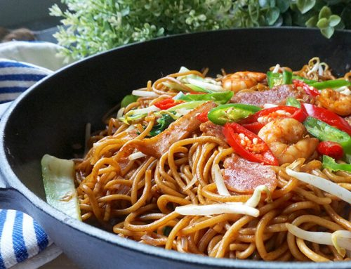 Chow Mein (Fried Noodles) Recipe