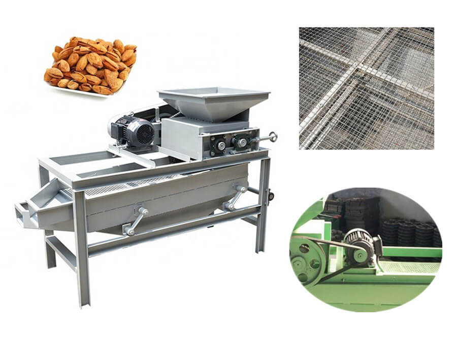 Feature of Almond Sheller and Separator