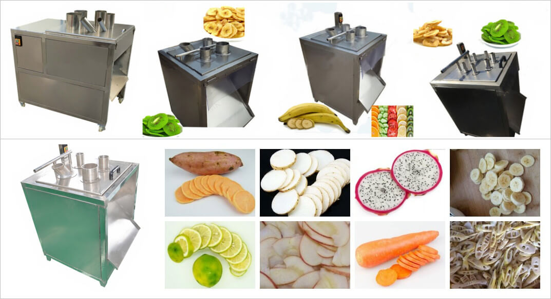 Fruit Vegetable Slicing Machine for slicing banana