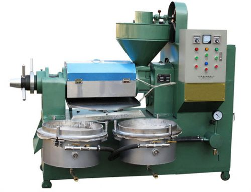 Integrated Screw Oil Press