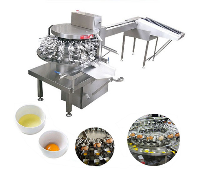 Introduction of Egg Breaking Machine