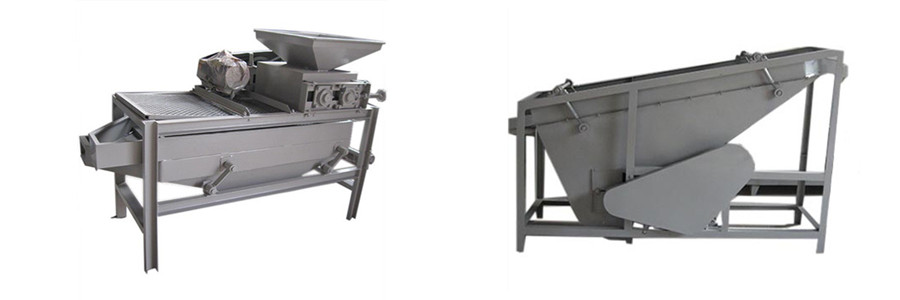 Introduction of Small Almond Sheller and Separator