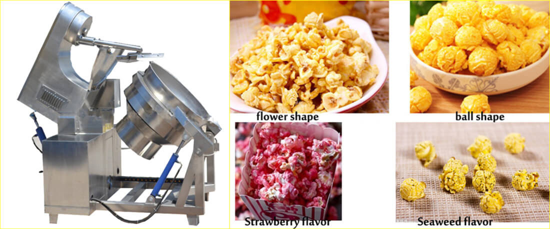 Large scale spherical Commercial Popcorn Machine
