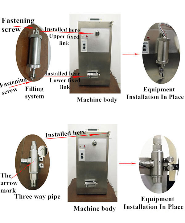Liquid Filling Machine Fixing Methods