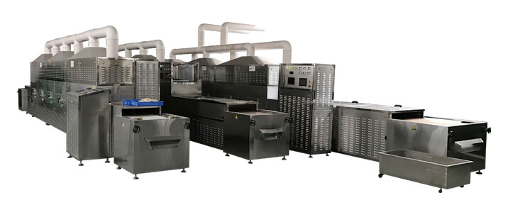 Microwave Pigskin Puffing Equipment