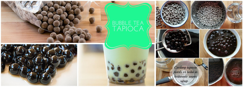 Milk Tea Pearls Making Method