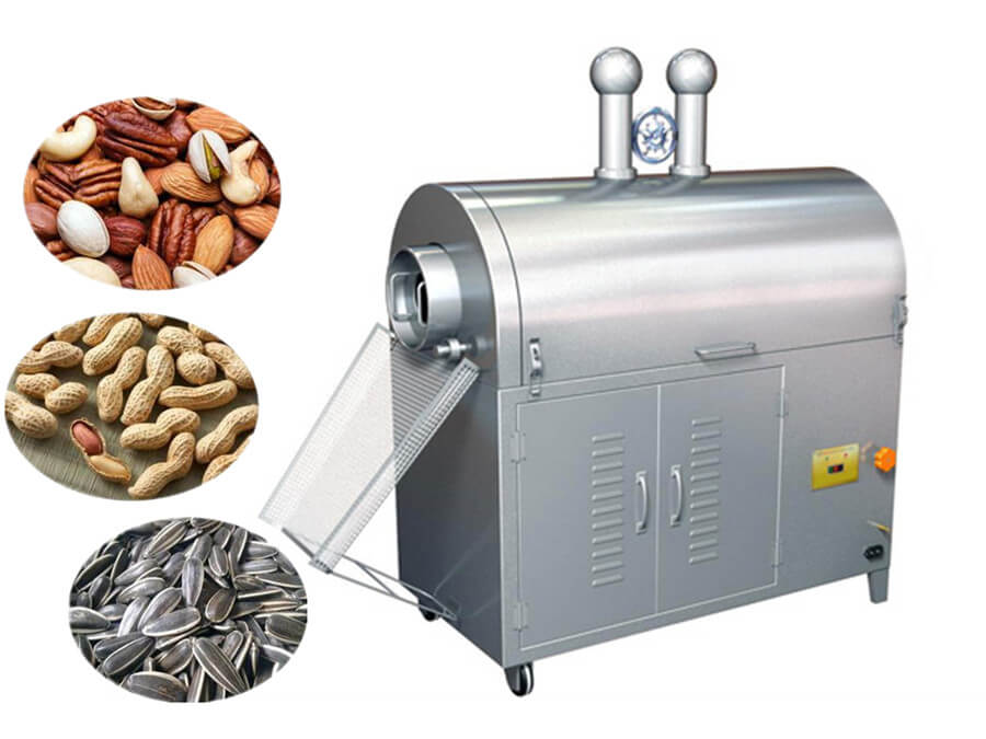 Nut Roasting Machine Brief Introduction