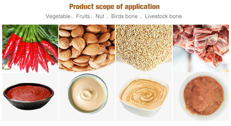 Nut and Bone Grinding Machine Applications