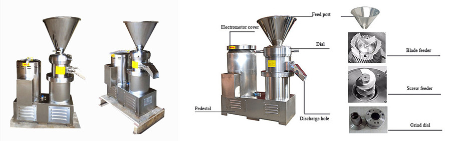 Nut and Bone Grinding Machine Introduction