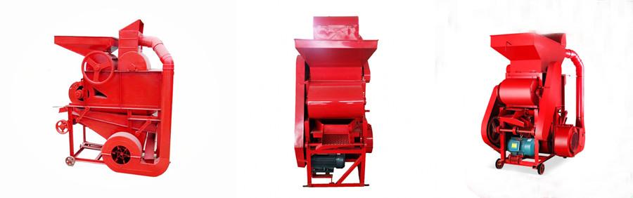 Peanut Shelling Machine Structure