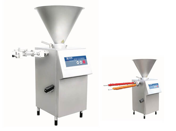 Pneumatic Quantitative Sausage Stuffing Machine with kinker