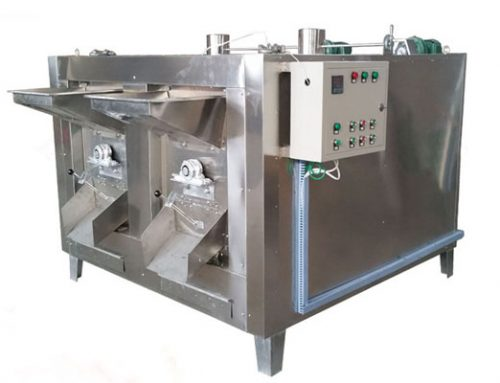 Rotary Nut Roaster Machine