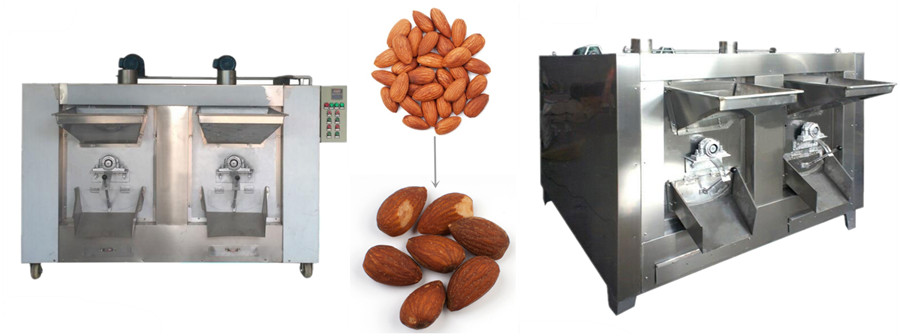 Rotary Nut Roaster Machine Introduction