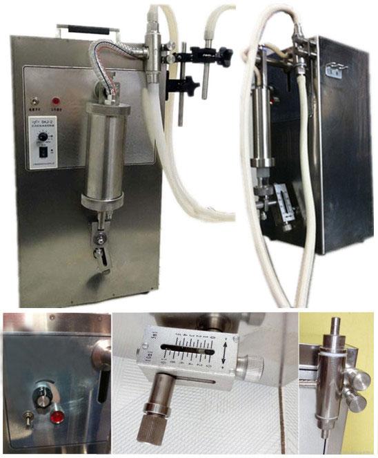 Small Quantitative Liquid Filling Machines Features