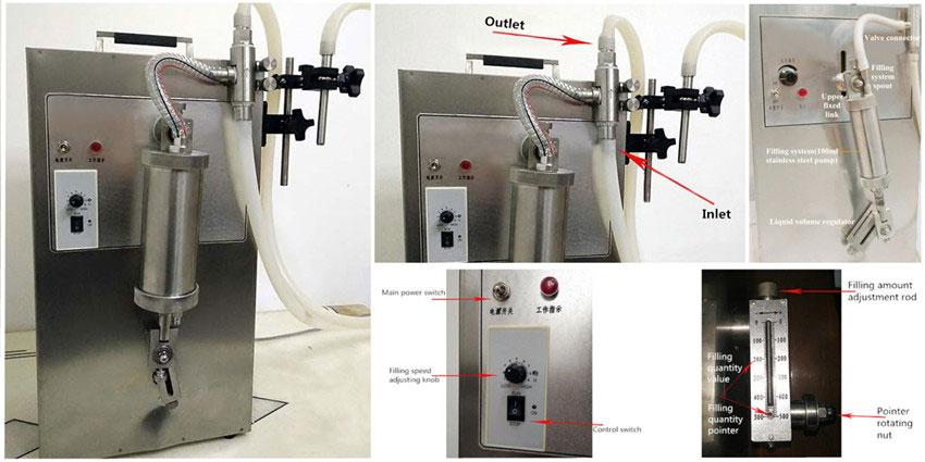 Small Quantitative Liquid Filling Machine's Stucture