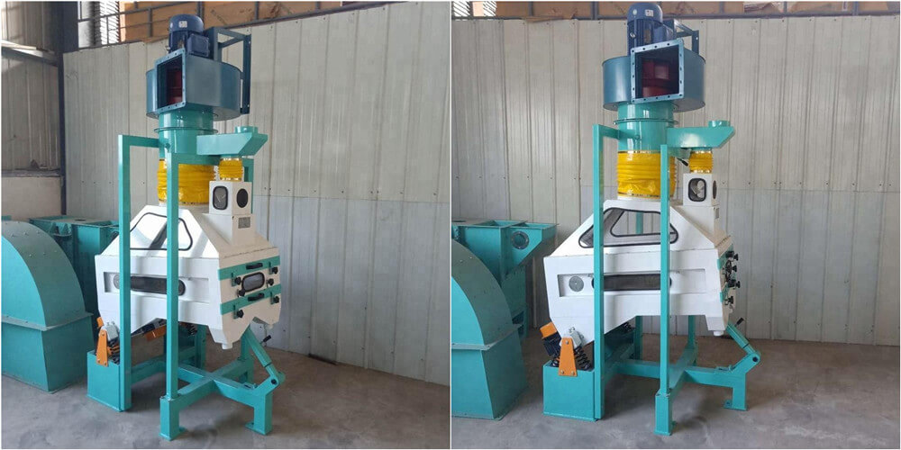 Specific-gravity stoning machine for grains