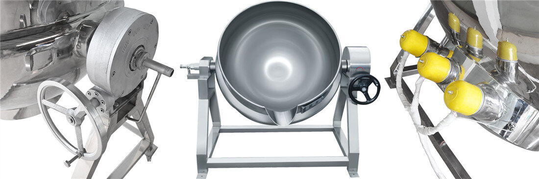 Stainless Steel Jacket Kettle features