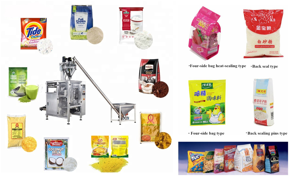 Vertical Packing Machine Application