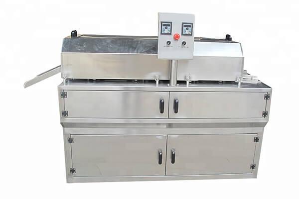 aloe peeling machine