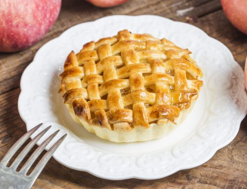 Homemade Delicate Apple Pie