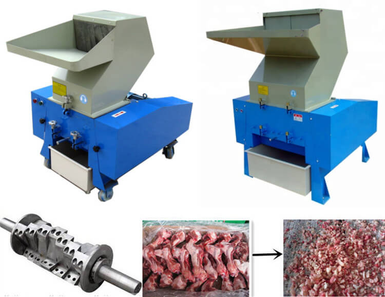 automatic bone crusher machine