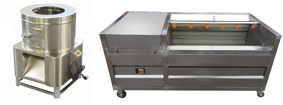 automatic fish scaling machine