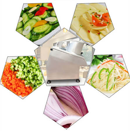 automatic vegetable cutter applications