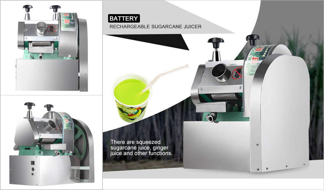 battery sugarcane juicer
