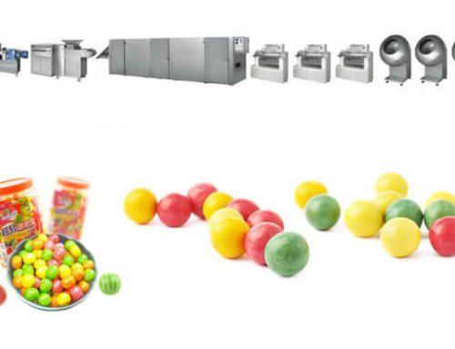 Odd-Shape Bubble Gum Forming Production Line