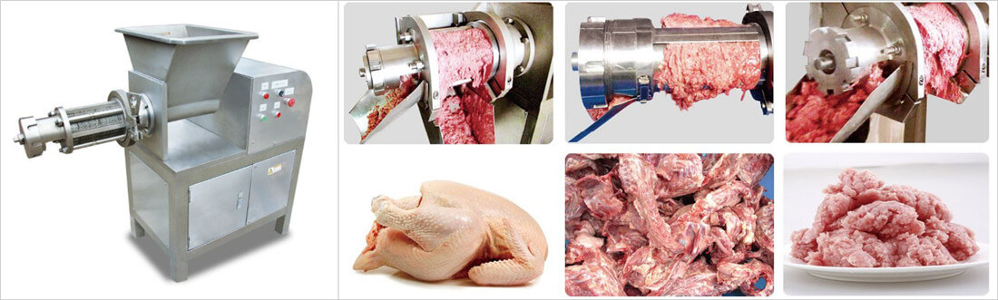 chicken meat bone separating machine