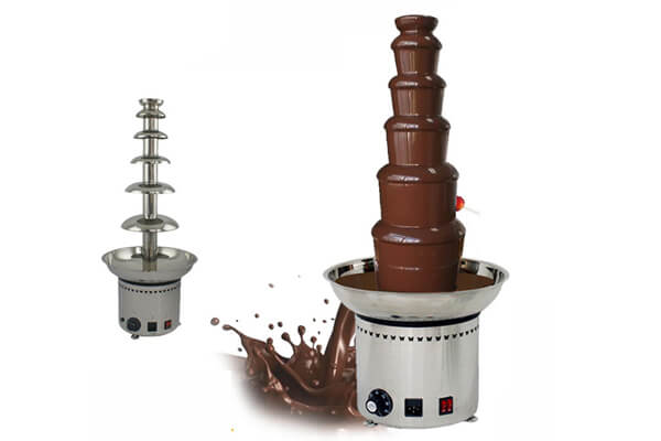 chocolate fountain commercial