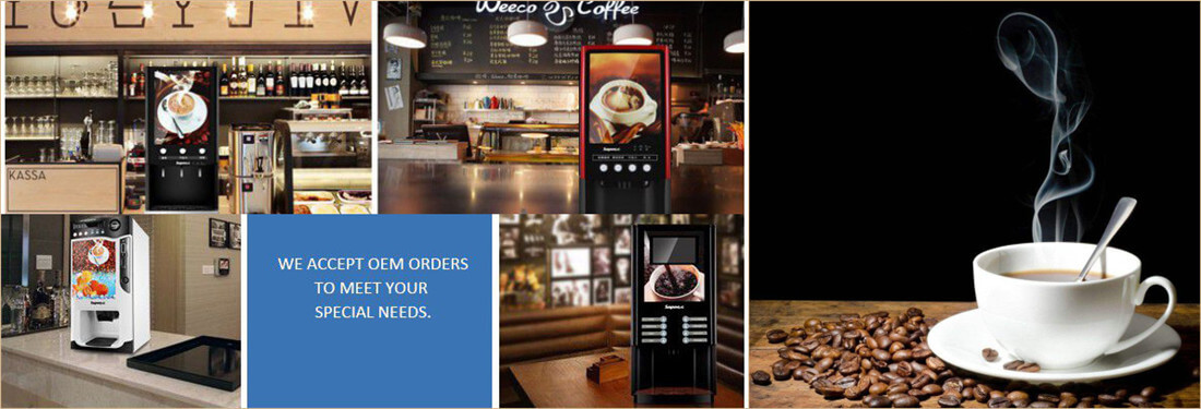 coffee vending machine application