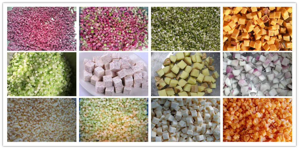 commercial vegetable dicer applications