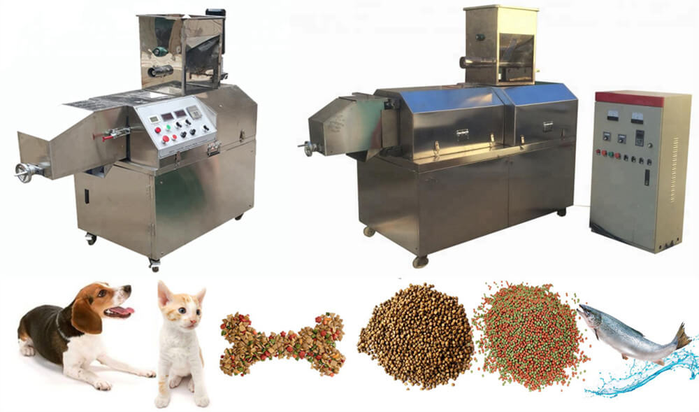 domestic animal feed extruder