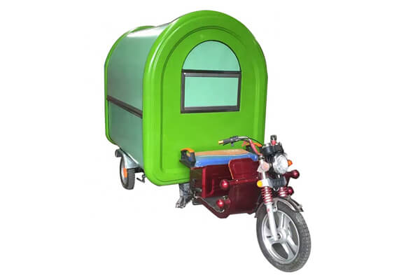 electric tricycle food cart