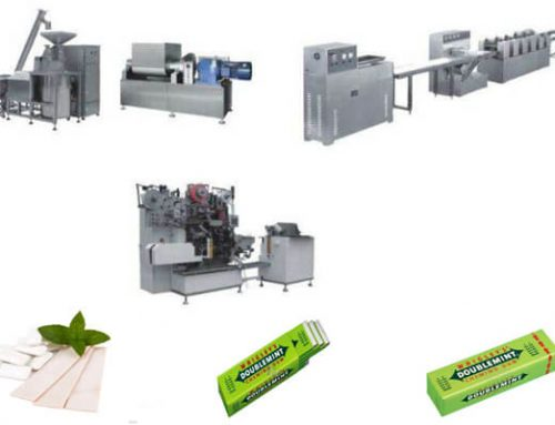 Tablet Chewing Gum Forming Production Line