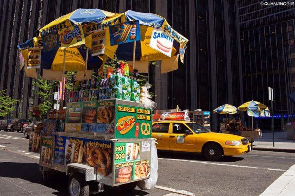 food cart foods