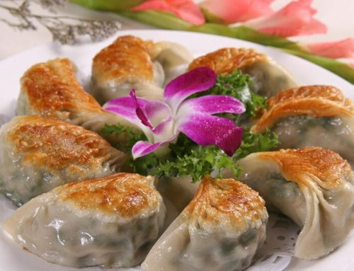 Fried Chinese Dumplings(Jiaozi)