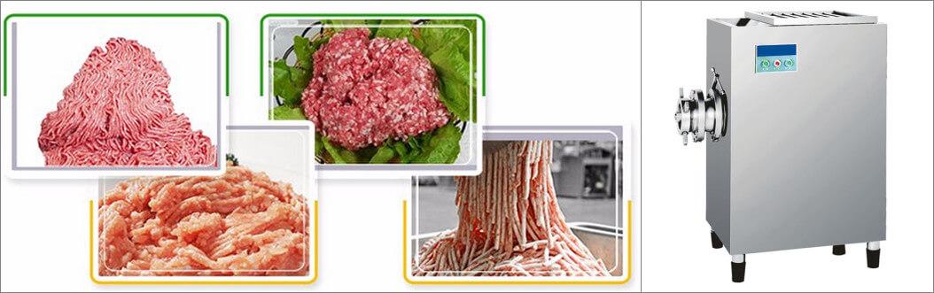 frozen meat mincing machine