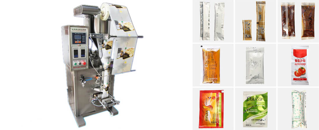 fully automatic sachet packing machine for liquid and paste