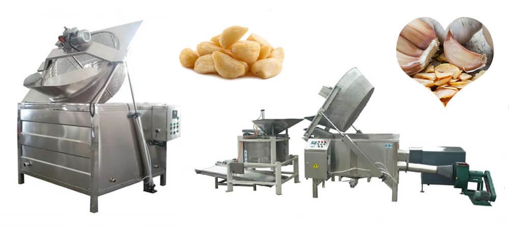 garlic frying machine