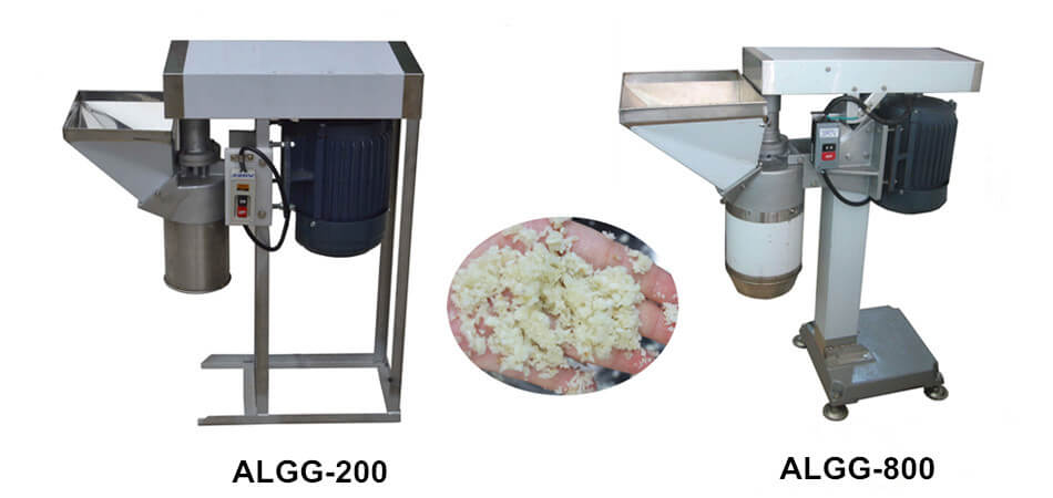 garlic grinder machine