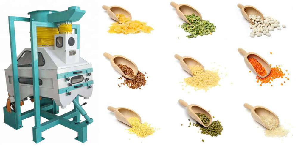 grain cleaning equipment application